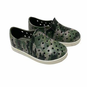 Old Navy Camo Print Perforated Rubber Sneakers